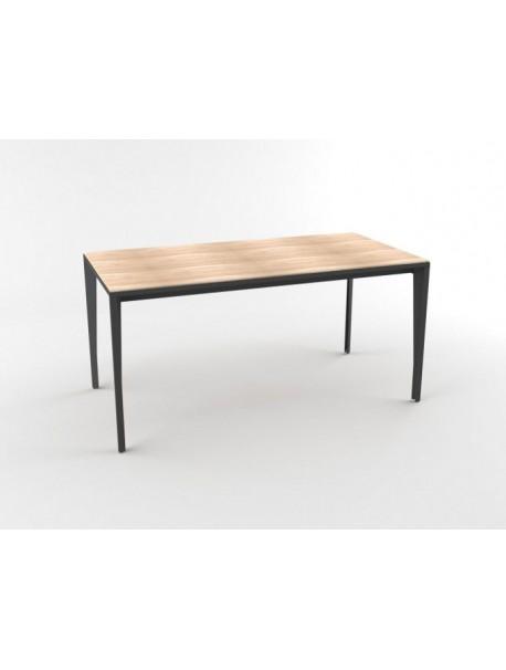 Bureau droit design ARCHE - Chêne/Gris Ombre