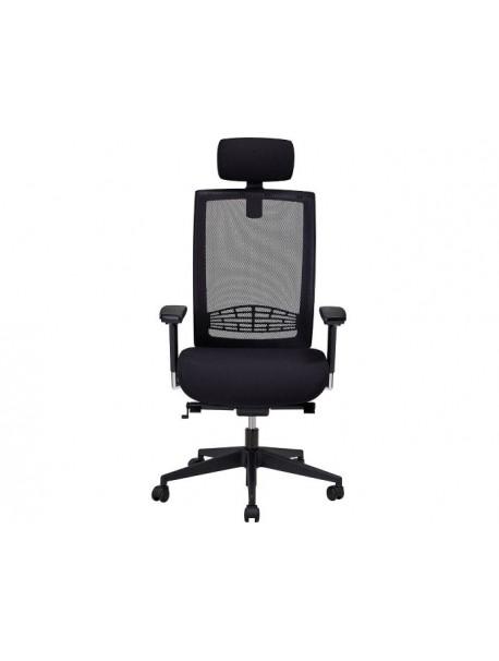 Siège de bureau ergonomique pour le dos YVAN - Noir