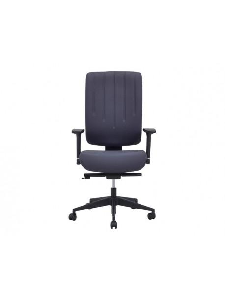 Chaise de bureau à roulettes KARL - Gris foncé