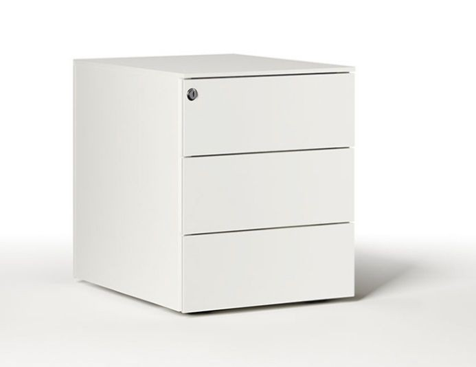 Caisson mobile en métal 3 tiroirs UNIVERSAL QUICK 420 - DIEFFEBI