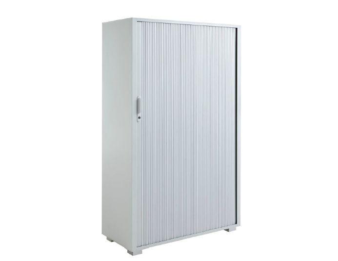 Armoire haute à rideaux TAMBOURS - H165xL100 cm