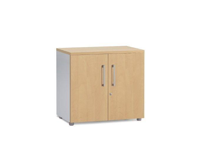 Armoire portes battantes en bois H69.5 cm - COLUMBIA