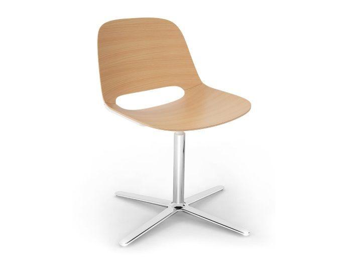 Chaise de réunion en bois LIPI - Hêtre - COLUMBIA