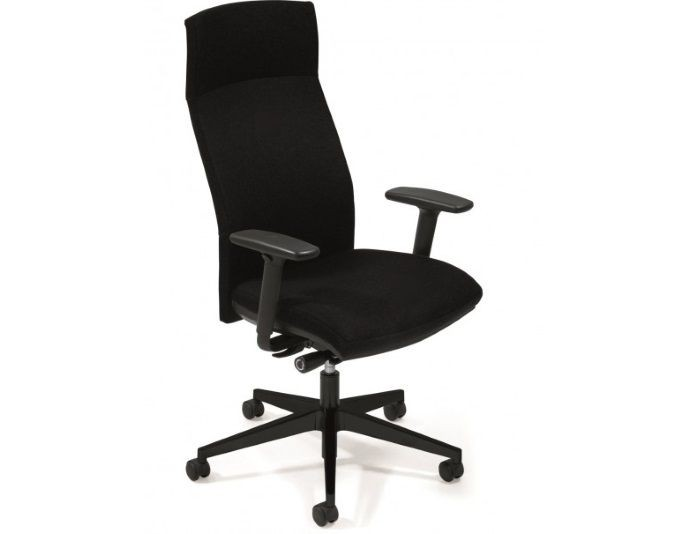 Fauteuil de bureau ergonomique ATTITUDE - Synchrone - Accoudoirs 4D - Têtière