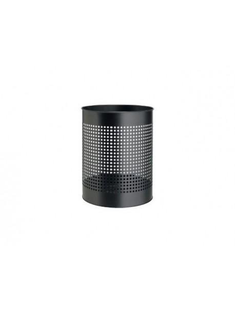 Corbeille à papier en métal BUBBLE noir