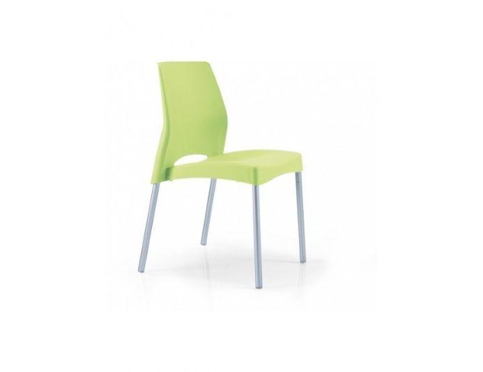 Lot de 2 chaises plastiques empilables PIM'S