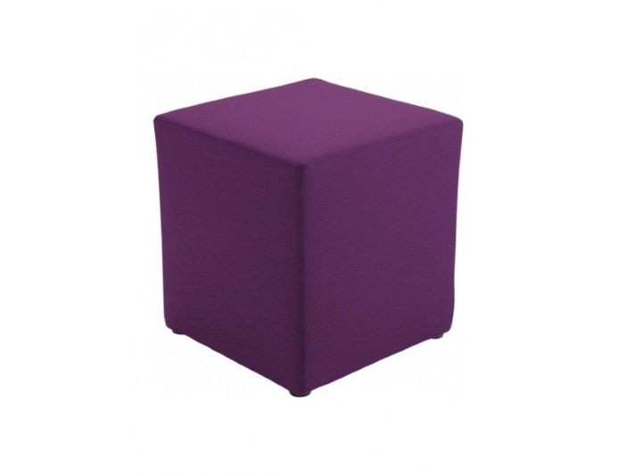 Pouf carré tissu CUBI