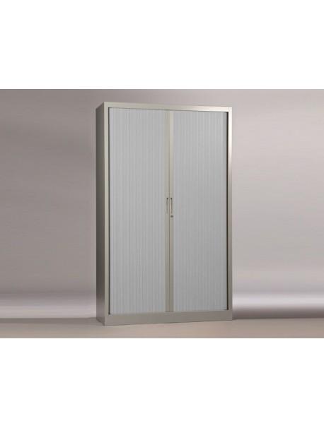 Armoire à rideaux H.198 cm CLASSIF - Aluminium