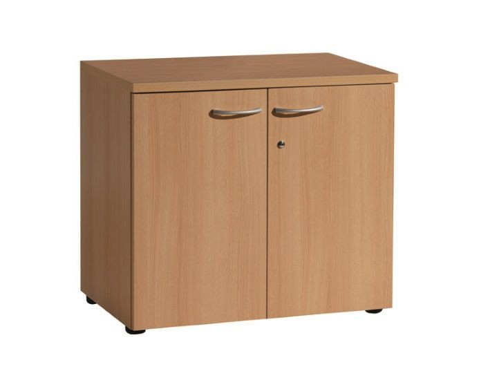 Armoire hauteur bureau 2 portes QUIETUDE H.72 cm