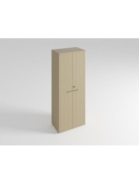 Armoire haute 2 portes H.201 cm QUIETUDE - Chêne FIl