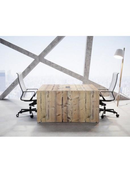 Table de réunion carrée SPACIA - Timber
