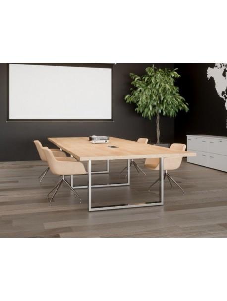 Table de réunion PRESTIGE - Chêne Nebraska