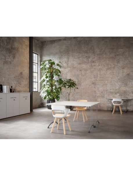 Table pliante SOLUTION - Blanc