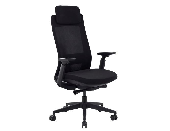 Fauteuil de bureau ergonomique ANDRE - Noir