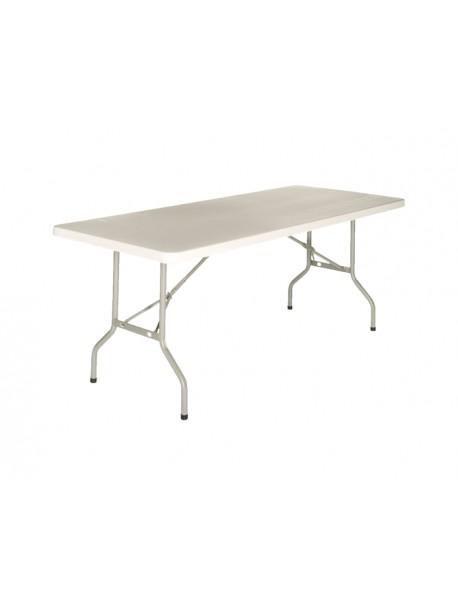 Table pliante CLIDE - Blanc