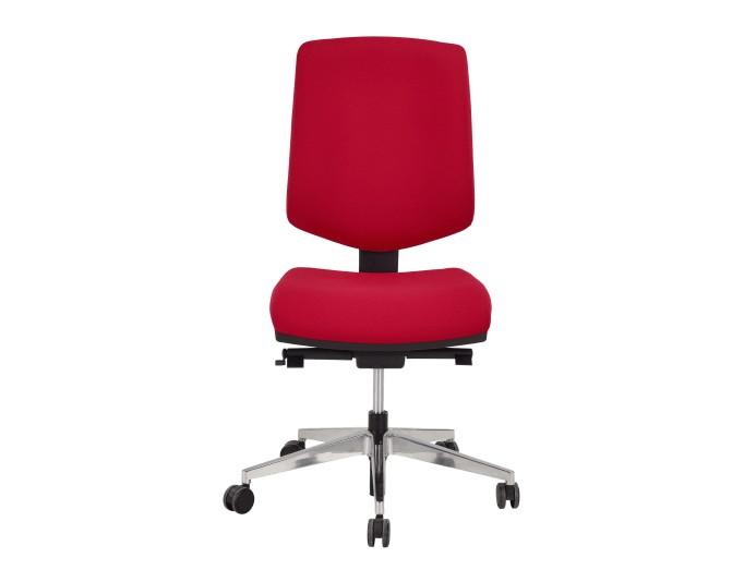 Chaise de bureau SUNSET - Rouge