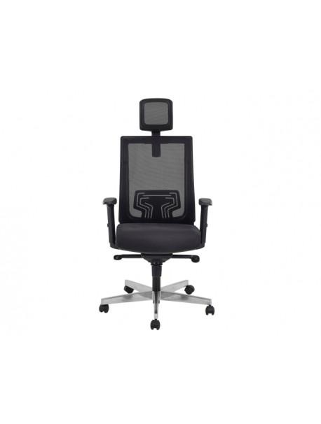 Fauteuil de bureau ergonomique SCARE - Noir