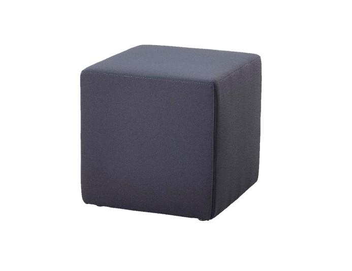 Pouf carré BAMBINO - Anthracite