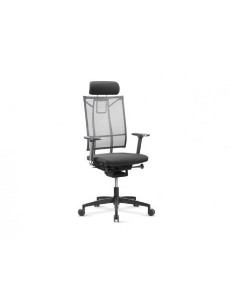 Fauteuil de bureau ergonomique SAIL GT8 - Noir