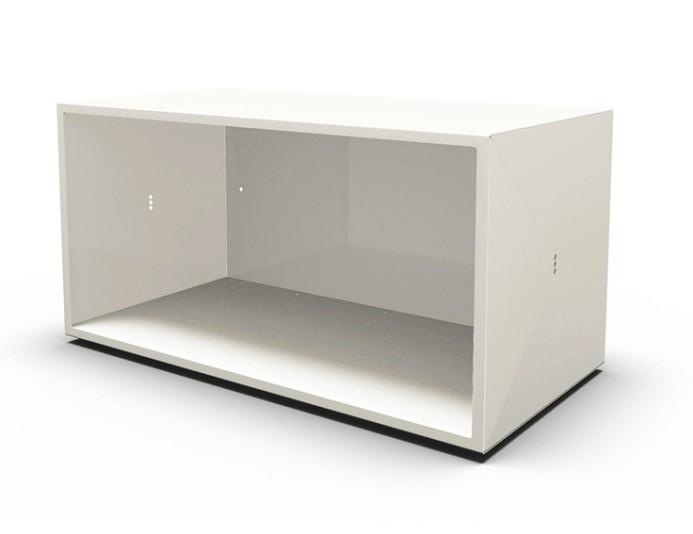 Module ouvert DOT BOX - L80xH40 cm - Blanc