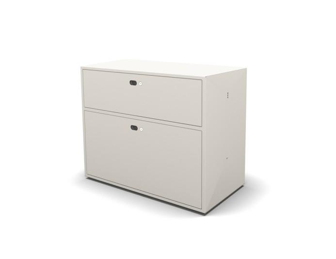 Module 1 tiroir + dossiers suspendus DOT BOX - L80 x H63 cm