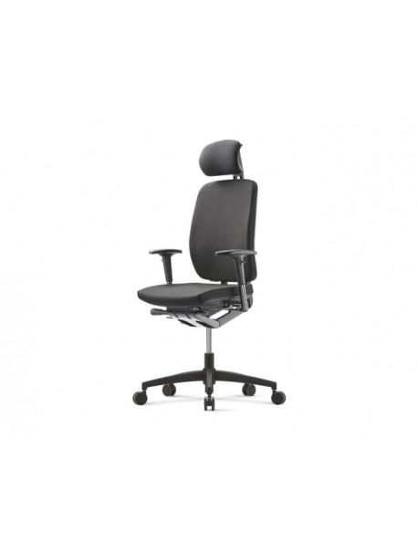 Fauteuil de bureau ergonomique GLOBELINE - Noir