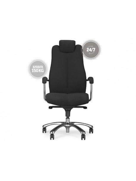 Fauteuil de bureau ergonomique SONATE - Noir