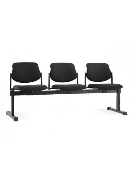 Chaises sur poutre 3 places STYL
