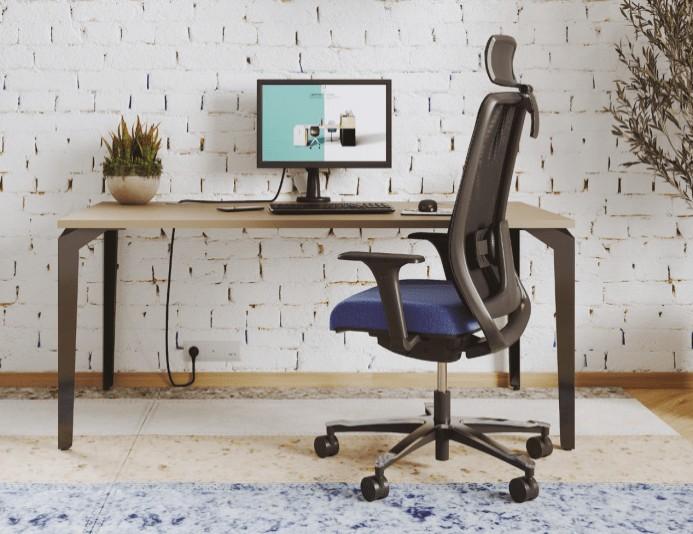 Fauteuil de bureau ergonomique MUNIK résille