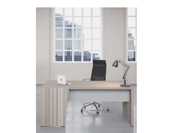 Bureau de direction SELECT Cèdre + Gris ED