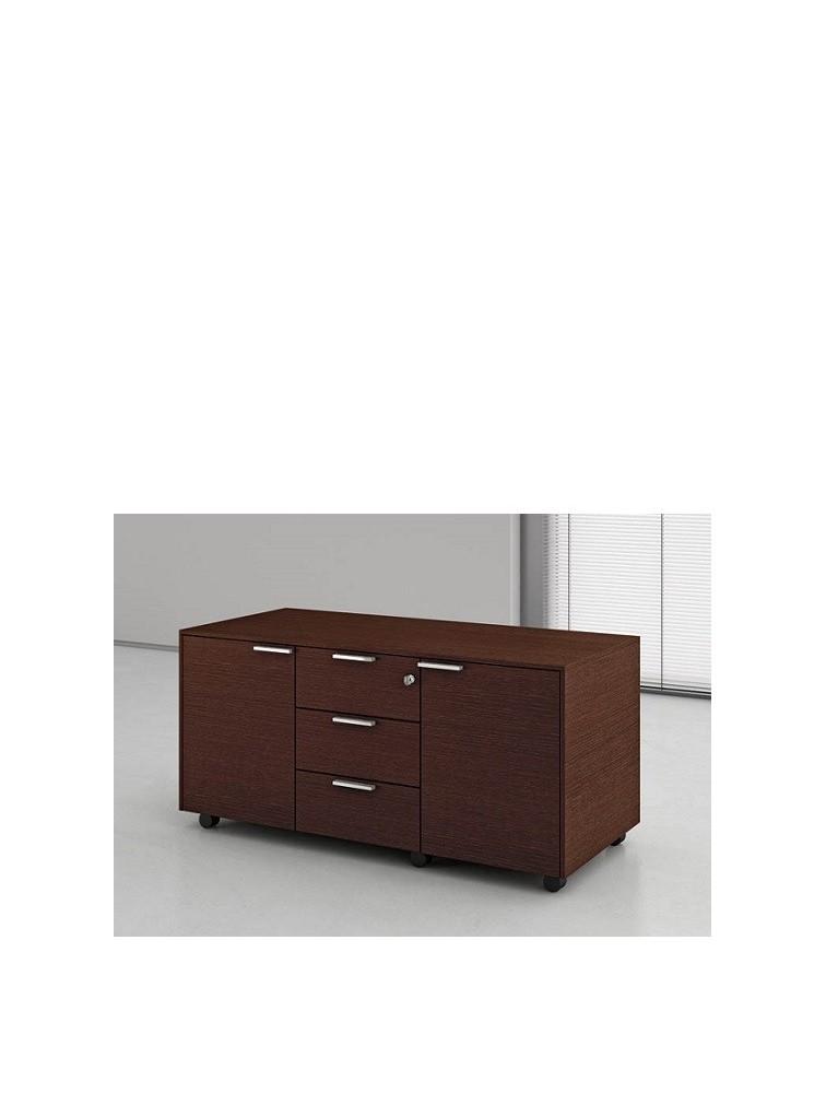 desserte mobile de rangement pour bureau compact delex mobilier. Black Bedroom Furniture Sets. Home Design Ideas