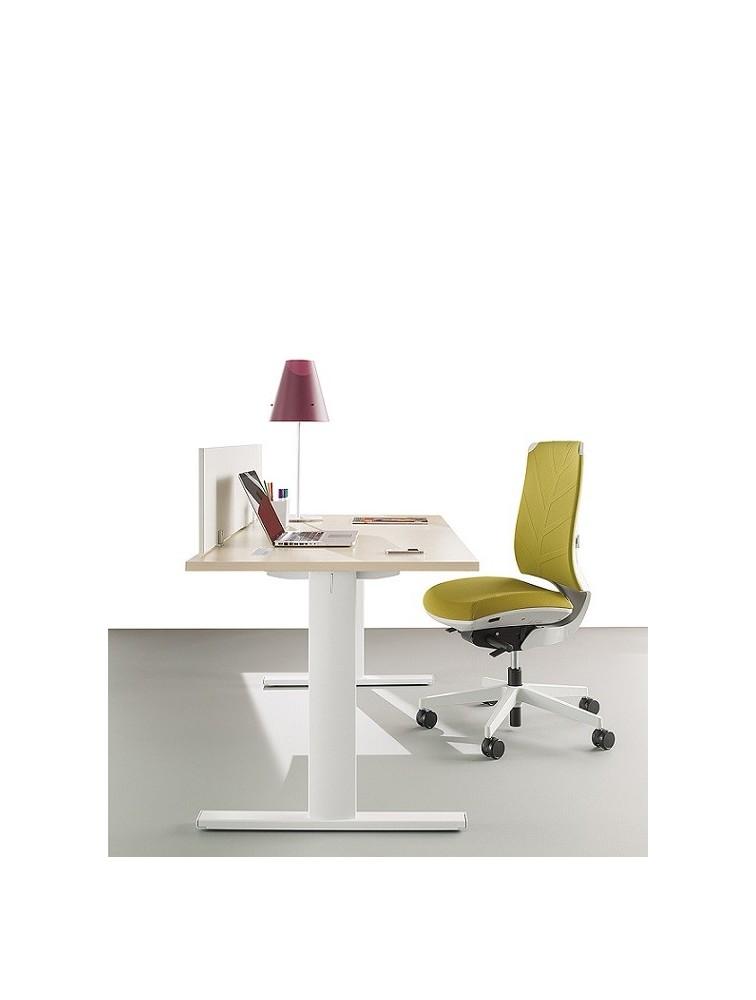 delex mobilier bureau individuel t line design modulable et moderne. Black Bedroom Furniture Sets. Home Design Ideas