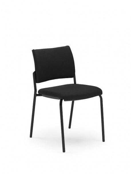 Chaise 4 pieds INTRATA Noir 009