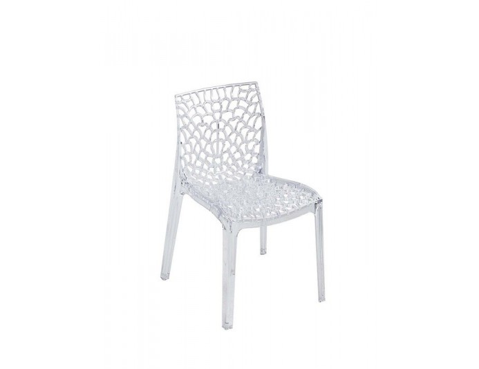 Chaise polycarbonate CHRIS