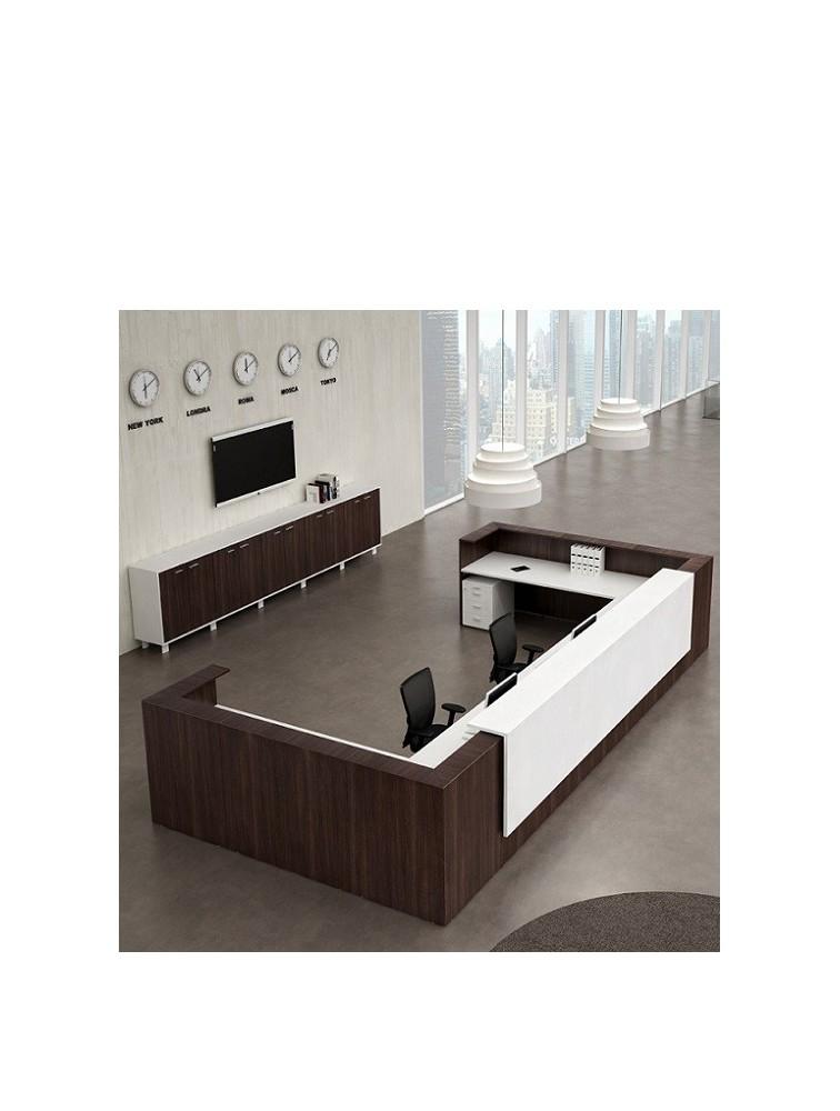 bureau d 39 accueil design moon sur mesure et pas cher delex mobilier. Black Bedroom Furniture Sets. Home Design Ideas