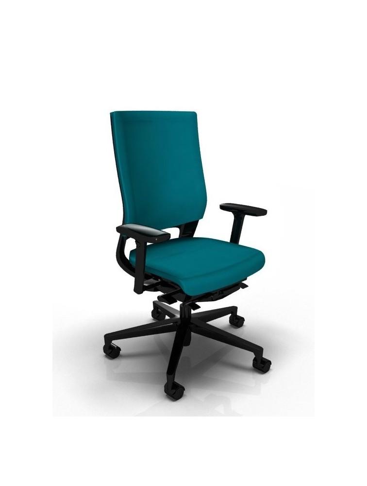 si ge de bureau ergonomique climatis klimastuhl delex. Black Bedroom Furniture Sets. Home Design Ideas