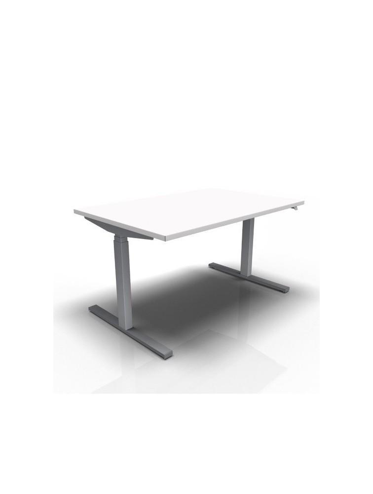 bureau hauteur r glable lectrique e model pas cher delex mobilier. Black Bedroom Furniture Sets. Home Design Ideas