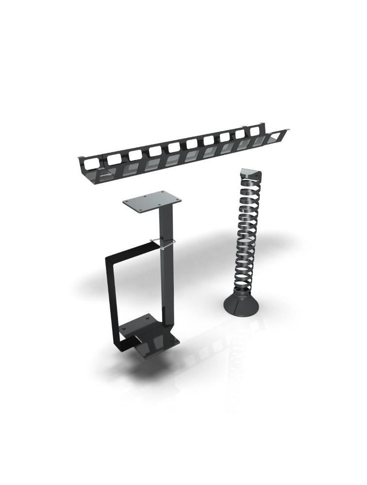 syst me de c blage passe fil pour bureau r glable en hauteur e model. Black Bedroom Furniture Sets. Home Design Ideas