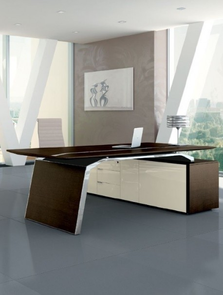 bureau de direction haut de gamme sur mesure metar delex. Black Bedroom Furniture Sets. Home Design Ideas